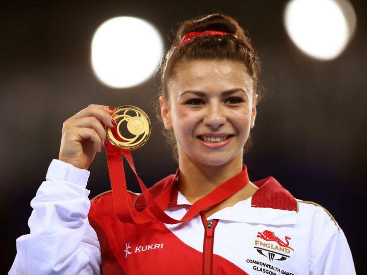 England's Claudia Fragapane won her fourth gold in gymnastics