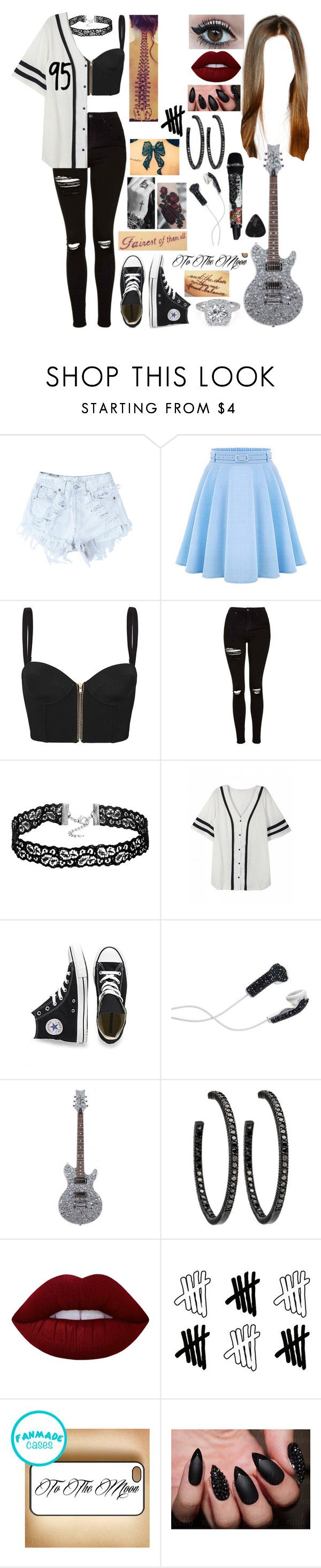 """Untitled #577"" by skh-siera18 ❤ liked on Polyvore featuring Levi's, sass & bide, Topshop, Converse, DEOS, Lime Crime, Disney and Samsung"