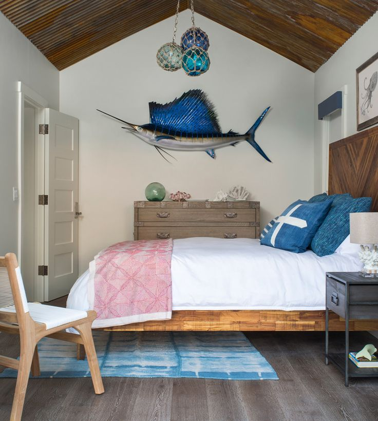 Beach House Bedroom By Studio80 Interior Design