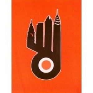 Flyers shirt with Philly skyline