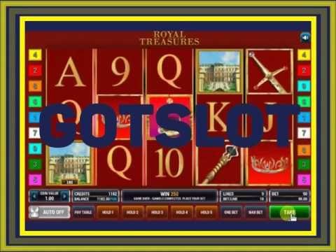 Видео обзор игрового автомата Royal treasures