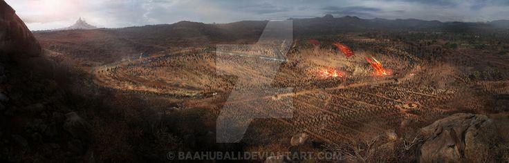 Battle Illustration by Baahubali.deviantart.com on @DeviantArt