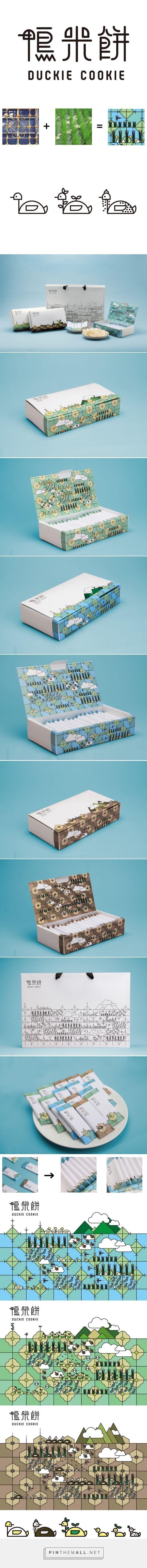 Duckie #Cookie #packaging designed by Yu-Heng Lin