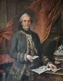 Jacques de Flesselles (by Donat Nonnotte) (1721-1789), the last Provost of the merchants of Paris and one of the first victims of the French Revolution