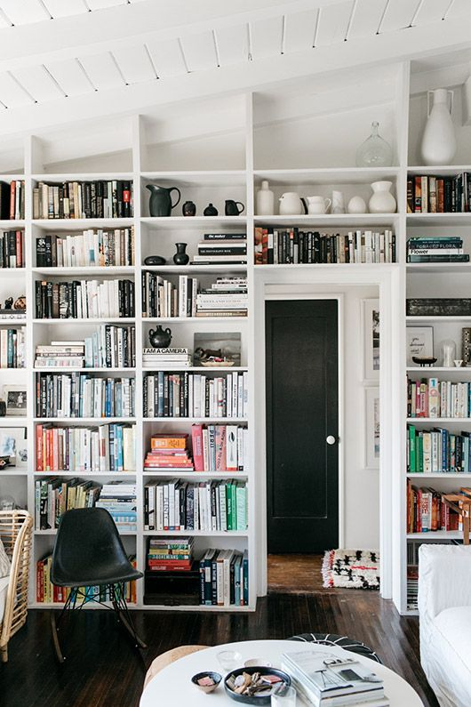 homeownership 101. White BookshelvesLove BookshelfBookcase WallBuilt ...