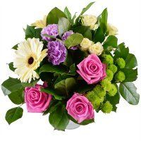 Нежный букет для малышки: подарок для дочки, сестренки или внучки на День Рождения или 8 марта. Быстрая доставка, надежный сервис.