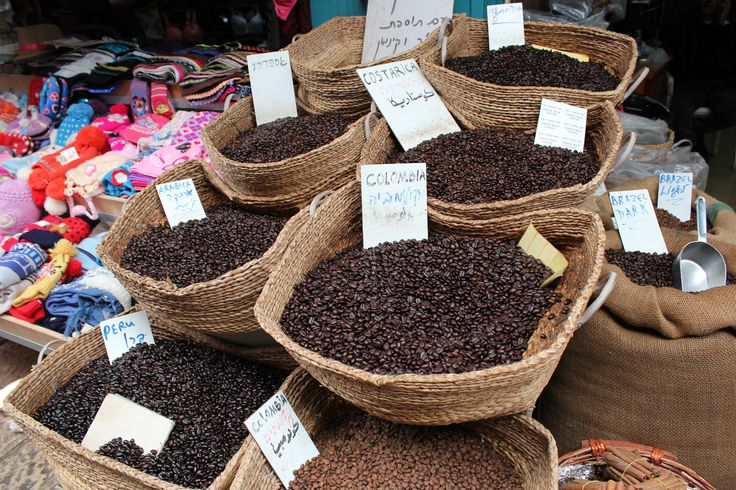 Fresh coffee beans Acco market http://www.eggedtours.com/galilee-golan-heights/caesarea-acre-rosh-hanikra.aspx
