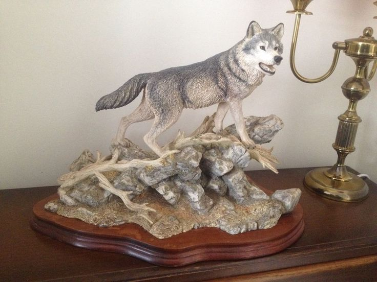 Border Fine Arts Animals Wolf Sculpture Pack Leader Ltd