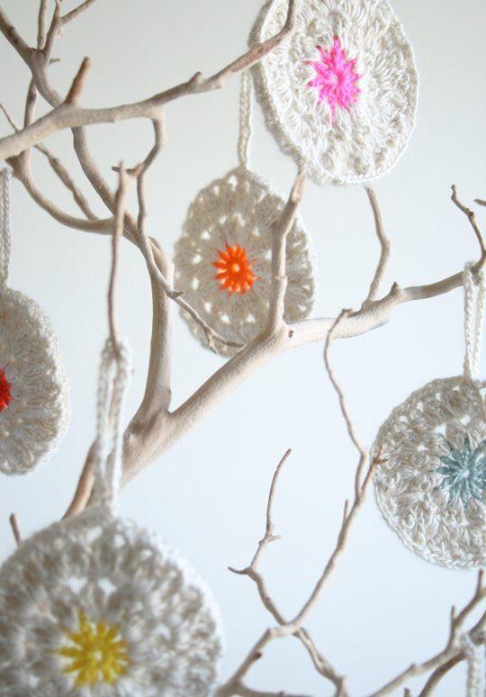 Gehaakte ornamenten