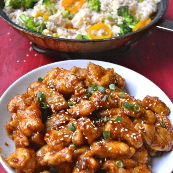 ... Kung Pao Chicken on Pinterest | Kung pao chicken, Recipe and Kabobs