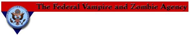 The Federal Vampire and Zombie Agency ... Fighting zombies is risky business, like playing poker. You don't want to be caught off guard while you play casino games. See how you can protect yourself or risk losing it all!