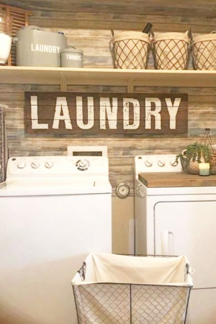 Laundry Nook Ideas We Love Clever Diy Ideas Rustic Laundry Rooms Laundry Nook House Decor Rustic