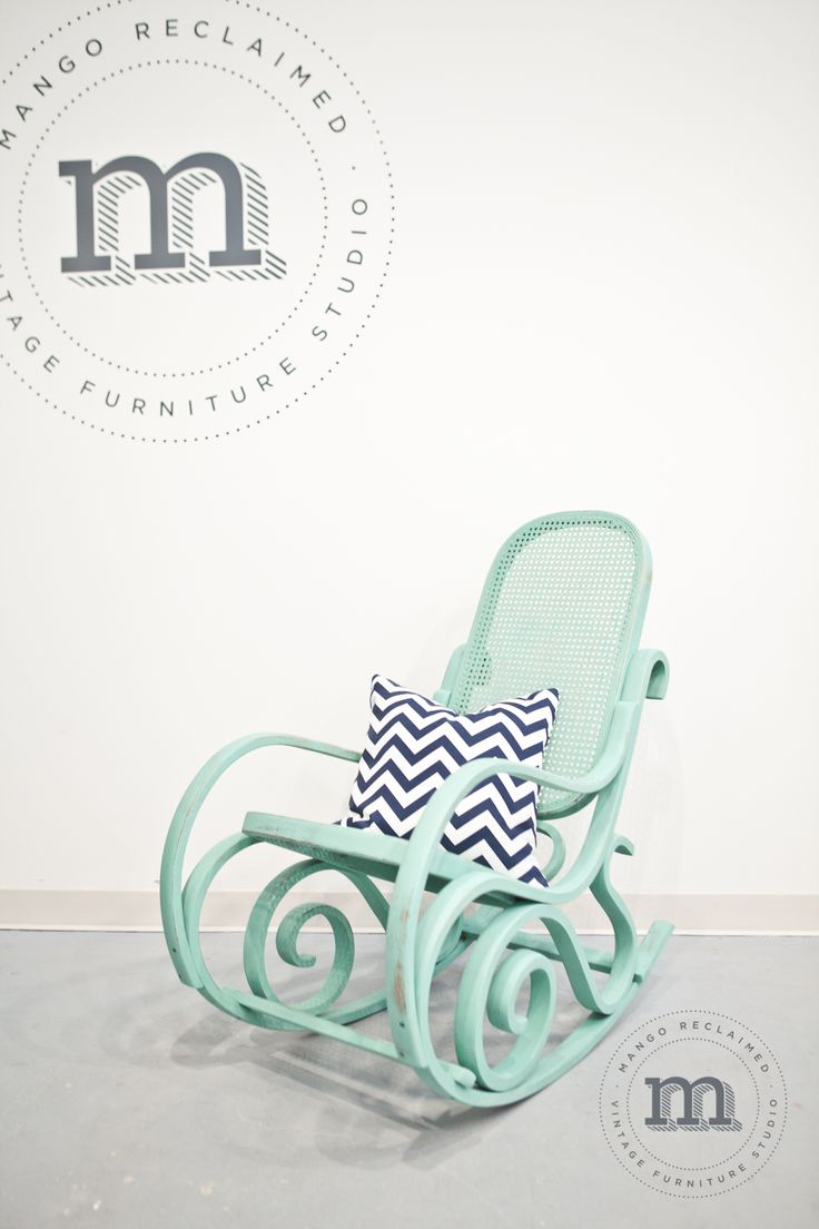 Original white painted bentwood rocking chair is no longer available - 1 Rocking Chair Many Looks
