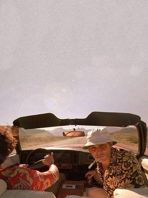 Las Vegas Parano (1998) by Terry Gilliam with Johnny Depp, Benicio Del Toro, Mark Harmon, Cameron Diaz, Christina Ricci, Tobey Maguire...