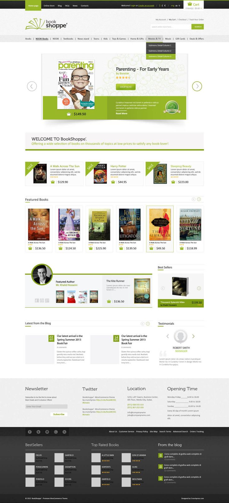 Book Store - WordPress Theme for Authors, eBooks, Digital Downloads Click the link to DEMO | DOWNLOAD NOW