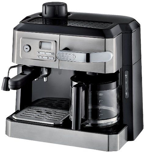 Special Offers - DeLonghi BC0330T Combination Drip Coffee and Espresso Machine - In stock & Free Shipping. You can save more money! Check It (May 10 2016 at 09:21PM) >> http://coffeemachineusa.net/delonghi-bc0330t-combination-drip-coffee-and-espresso-machine/
