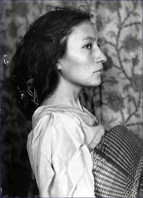 Portrait of Zitkala-Sa by Gertrude Kasebier, about 1898. Zitkala-Sa was the pen name of writer and activist Gertrude Simmons Bonnin (1876-1938).  She exposed the hardships faced by students at Native American boarding schools by writing about her own experiences as a student and as a teacher.  Zitkala-Sa also published a book of tribal folklore called Old Indian Legends. She also founded the National Council of American Indians, which was trans-tribal, to lobby for better treatment for all.