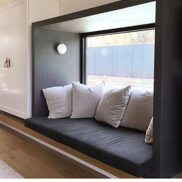 Normanby window seat #whitingarchitects #whitingarchitectureandinteriors #house…