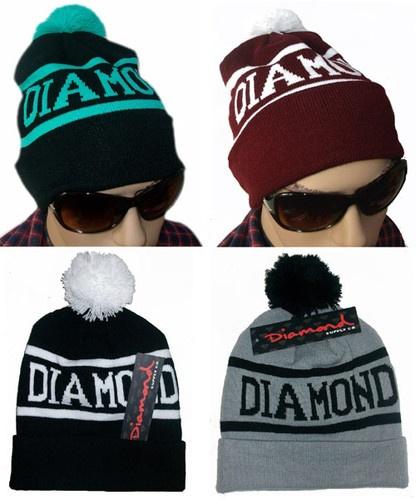 Hip Hop Unisex Chic Diamond Supply Co Beanie Men's Women' s Knit Cap Wool Hats | eBay $14