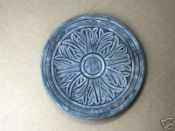 1402-01 - #1402-01 - One 14x2 Celtic Flower Stepping Stone Mold+ F/S. Very cool molds
