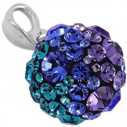 Pandantiv cu cristale colorate http://www.bijuteriifrumoase.ro/cumpara/pandantiv-cu-cristale-albastre-chaton-ball-10-3104