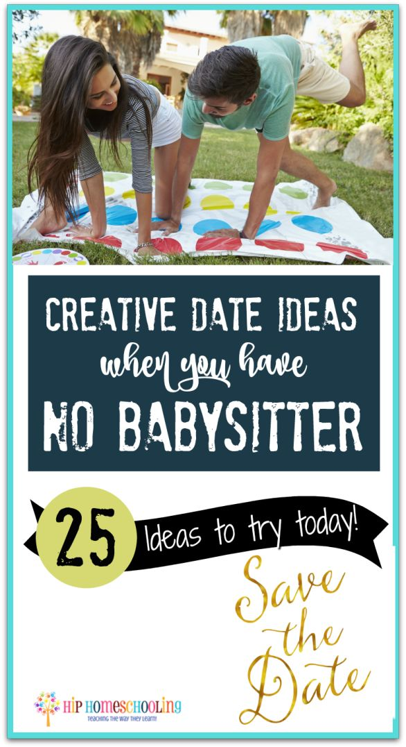 Creative Date night Ideas for married couples when you Have no Babysitter Check out these 25 ideas and plan a date night tonight!