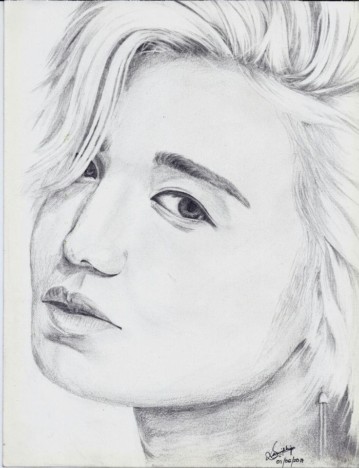 Lee Sungjong ~ 이성종 The closest close-up I've ever drawn😀 Our Diva Sungjong 😍 (Changed his ear hangings though🙇)