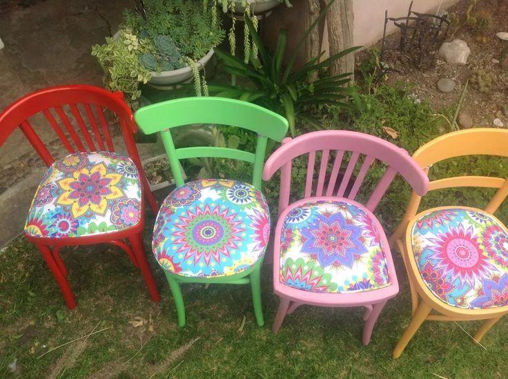 silla antigua thonet, restaurada