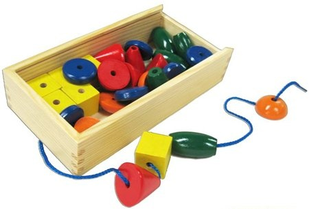 Wooden lacing beads $14.95