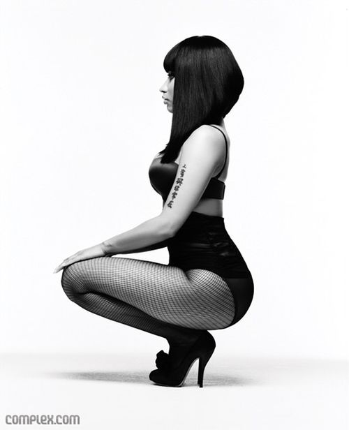 Nicki Minaj - her pose. I want this as a t-shirt