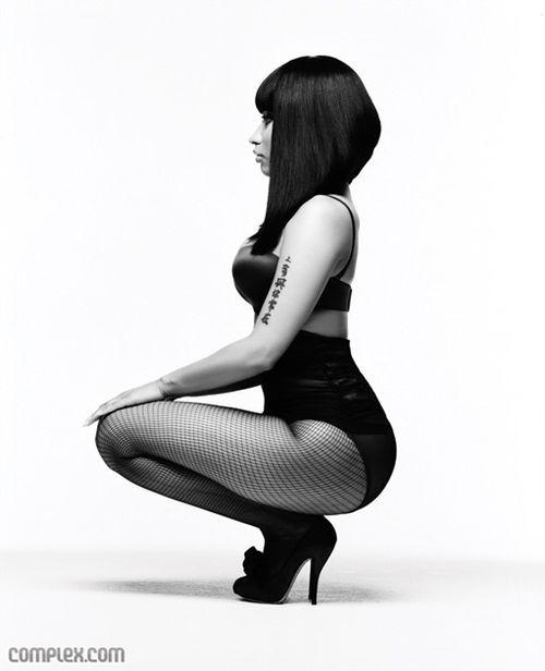 Nicki Minaji long bob