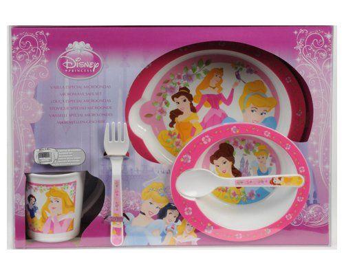 5-delig Disney Princess Magnetron Servies Set