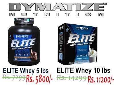 Buy Authentic Dymatize Elite Whey Protein at Just Rs. 5800/-  Imported Whey Protein with 30 Day Return Policy.