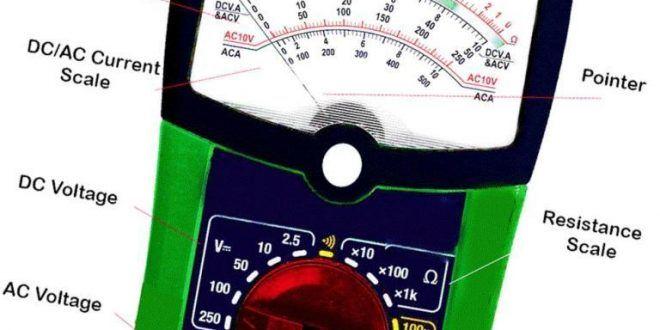 Digital Voltmeter Working Principle Digital Power Grid Measuring Instrument