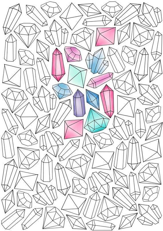 Kristally Crystal Drawing Bullet Journal Ideas Pages Bullet Journal Inspiration