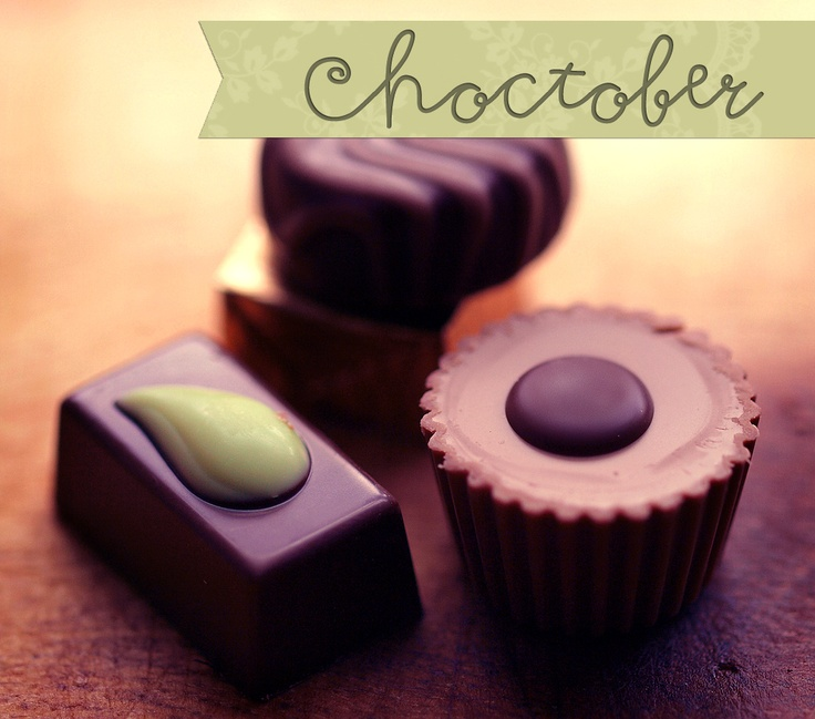 Make a difference with CHOCOLATE! Give back during Choctober!