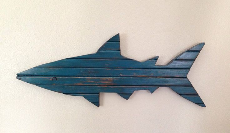 Pre-Black Friday Sale! Pallet Shark, rustic shark, shark decor, pallet shark, surf decor, wood shark, beach decor by NCSustainableStyle on Etsy