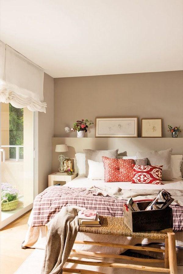 C mo elegir los colores para pintar tu casa dormitorios - Pintar un dormitorio ...