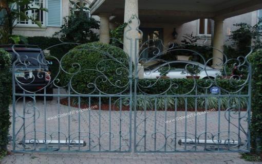Aluminum Driveway Gates, Wrought Iron Gates