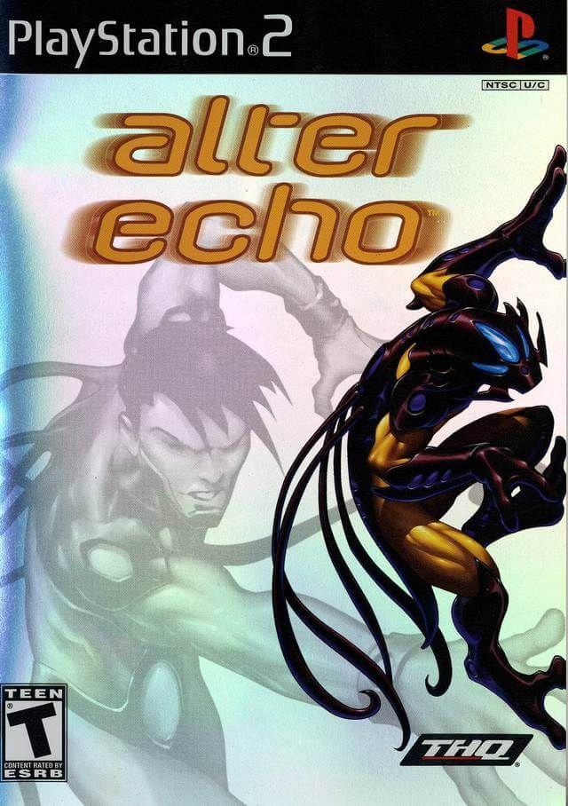 Alter Echo Ntsc Ingles Para Ps2 Ps2 Games Playstation