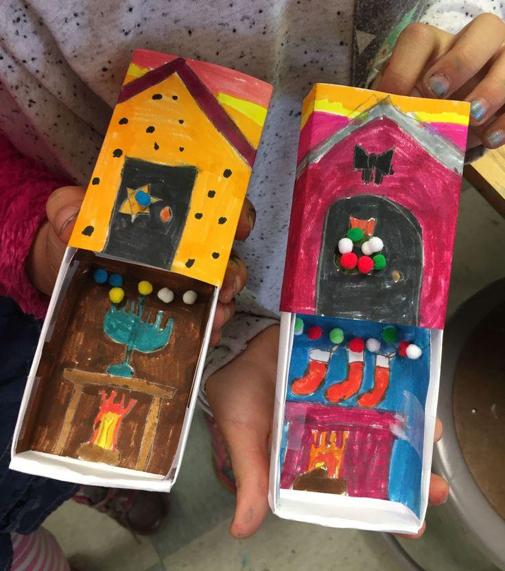 Matchbox with Mini Pom Poms. Challange kids to add something cute with mini pom poms. #matchbox