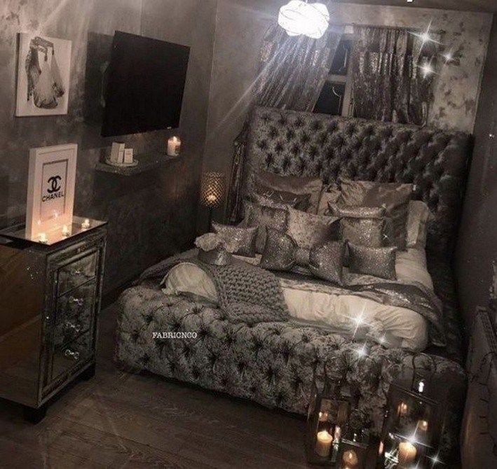 47 very beautiful and comfortable bedroom decor ideas 38 #wohnzimmerideen #wohni… #Wohnzimmerideen