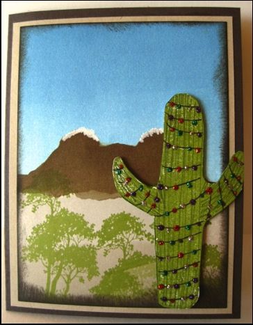 Cactus carved by Nancy Hoetker: Stampinup Com, Cactus Carved, 2013 Stampin, Card, Kit Retired, Stamp Carving, Nancy Hoetker, Carving Kit