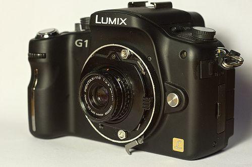 Pentax-110 24mm on Panasonic G1