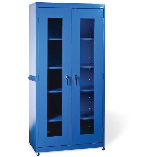 Sandusky Lee 72 H Clear View Storage Cabinet