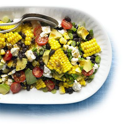 An exciting main-course salad, packed with interesting flavours and textures