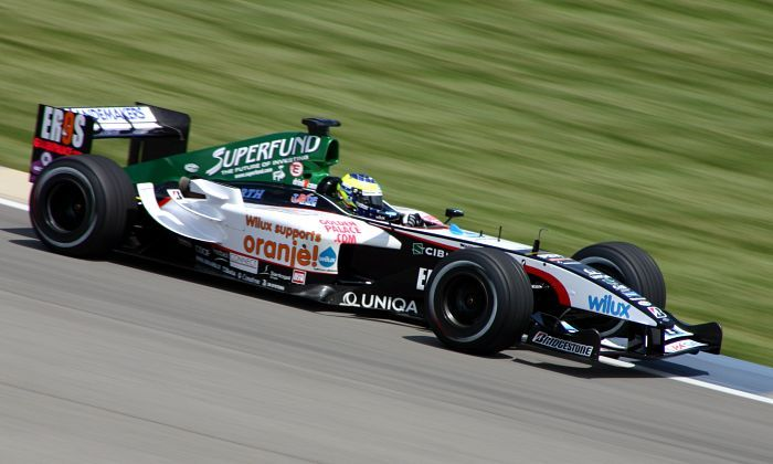 2004 GP USA (Zsolt Baumgartner) Minardi PS04B - Cosworth