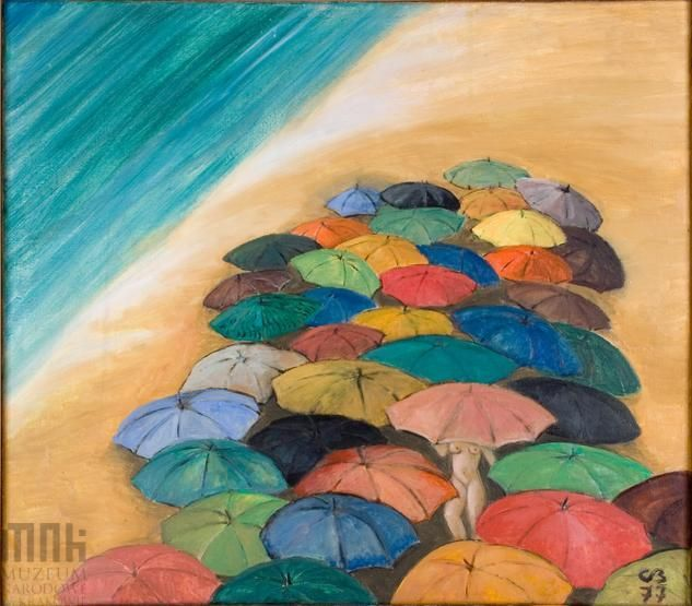 Carlotta Bologna, Lato 77, Muzeum Narodowe w Krakowie #summer, #lato, #art #painting #museum