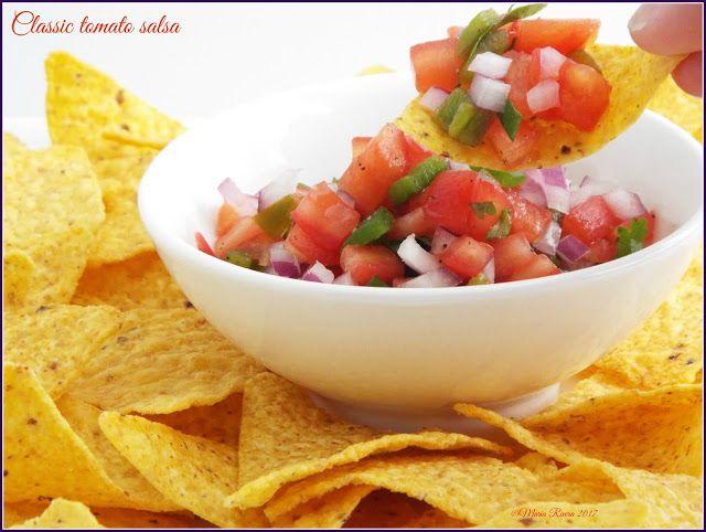 Desserts and Good Food: Classic tomato salsa