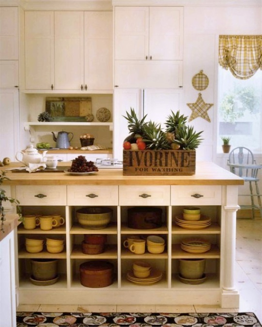 78+ Images About Open Shelves On Pinterest